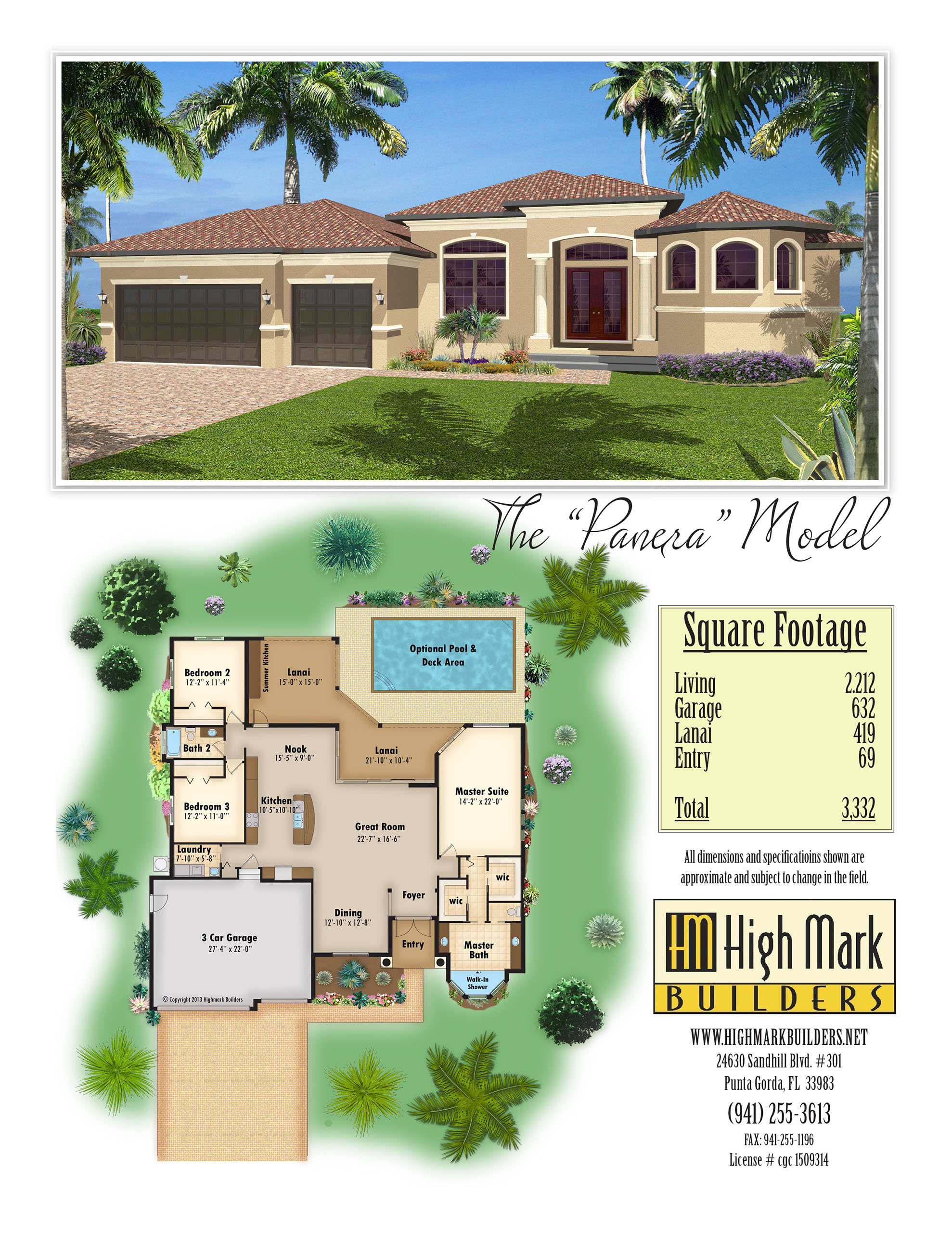 bluestream design studio port orange builder brochures digital