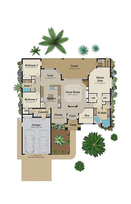 Bluestream Design Studio Pensacola U0026 Tallahassee Color Floor Plans | CAD  Floor Plan Pensacola, Panama City, Fort Walton Beach, Apalachicola,  Tallahassee, ...